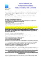 Règlement intérieur 2021
