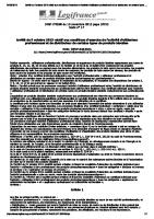 Journal officiel législation CERTIBIOCIDE